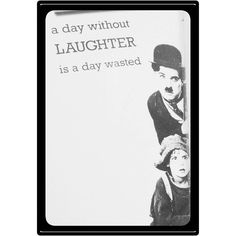 We could all use a bit more laughter in our lives. I truly believe that laughter is medicine for the soul. It has the ability to heal those little sad bits inside of you.  Make sure that you surround yourself with the people who make you smile everyday and that can make you laugh until you cry.  #laughterismedicine #livewithlove #behappy #positivity #liveauthentically #surroundyourselfwithpositivepeople #shinebrightly #shareyoursmile #chaplin #quote #quoteoftheday #quotesofinstagram #happy…
