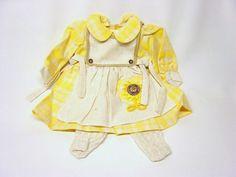 Schildkroet-Puppenkleidung-Puppen-Winterkleid-mit-Strumpfhose-fuer-56-cm-Puppen
