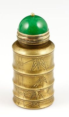 Chinese Copper Snuff Bottle