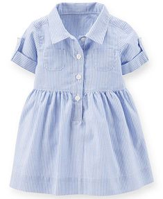 Carter's Baby Girls' Striped Shirtdress