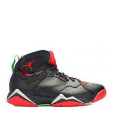 e2f808760dbe23 Air Jordan 7 Retro Marvin The Martian Blck Unvrsty Rd Grn Pls Cl Gry 304775  029