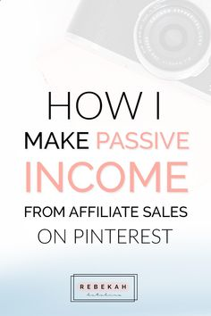 Earn Money Online From Home - Check out these affiliate marketing tips for beginners who want to make money online. Learn about programs you can join and how you can make passive income by pinning your affiliate links on Pinterest. If you're a blogger or online business owner interested in earning money with affiliate marketing, click through for advice and ideas! You may have signed up to take paid surveys in the past and didn't make any money because you didn't know the correct way t...
