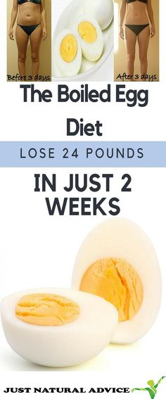 The Boiled Eggs Diet: Lose 24 kg In 2 Weeks!