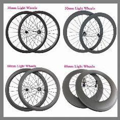 [ $22 OFF ] Ultra Light Carbon Wheels 700C 23Mm Width 24Mm 38Mm 50Mm 60Mm 88Mm Clincher Tubular Racing Bicycle Wheels Road Bike Wheelset