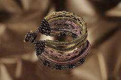 A Lot of Multi - beadwoven bracelet by Hanneke Wels