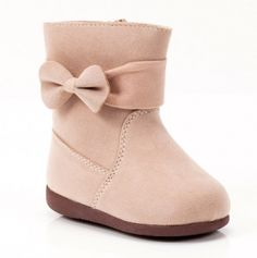 Lil girl bow boots....How Presh?!?