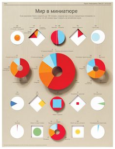 A paper infographic #real #3d