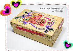 Tutorial: Cómo decorar cajas de regalo de amor.
