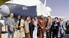 "'Boldly go': Astronauts honor Leonard Nimoy - Leonard Nimoy, who died on Friday at 83, inspired generations of astronauts thanks to his portrayal of Mr. Spock in Star Trek on the U.S.S. Enterprise. And Nimoy was front-row-center when NASA rolled out the real space shuttle Enterprise in 1976, joined by DeForest Kelley, the actor who played Dr. ""Bones"" McCoy on Star Trek ..."