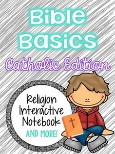 Looking for an engaging resource to help teach your students about the basics of the Bible?Religion Interactive Notebook: Bible Basics - Catholic Edition is a labor of love I designed to help my 4th-6th graders become more familiar with the Bible.Objectives:(Lessons can be taught between 3-5 days)*Students will develop understanding of what Gods word can do (as exemplified in Biblical History and every day life) *Students will learn different terms for the Bible*Students will learn that God…