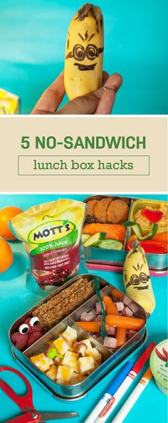 Wondering where you should start when it comes to creating lunch ideas to suit your kid's food allergy? These 5 No-Sandwich Lunch Box Hacks make great inspiration for good-for-you and fun recipes to try with your little ones! When paired with one of the new flavors of the Mott's 100% Juice Pouches—Apple, Apple White Grape, and Apple Mango—this meal idea really comes together. Plus, you can pick up everything you need from your local Publix, it's easy to meal prep for back-to-school season.