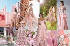 Peachy_Pink Bridesmaid Dresses, Wedding Dresses, Mermaid, Peach, Formal Dresses, Pink, Fashion, Bridesmade Dresses, Bride Dresses