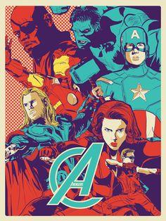 Avengers Assemble by Julian Strayhorn