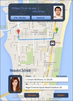 Our new App enables riders and Schleppers to communicate easier than ever.
