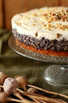 Jablkovo-maková torta   The Story of a Cake Fruit Cakes, Tiramisu, Cooking Tips, Poppy, Photography Ideas, Ale, Pudding, Baking, Ethnic Recipes