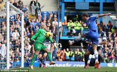 a chance from Ivanovic but miss #CFC