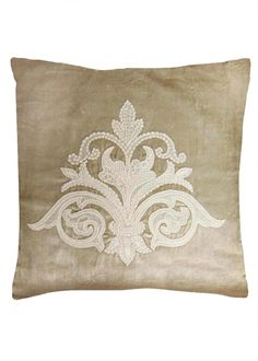 Milady pillow has soft texture and pattern because of the rich velvet material