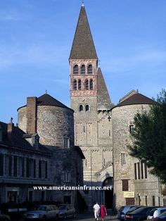 Saint-Philibert Abbey in Tournus. For more information see - http://www.americansinfrance.net/Attractions/Saint-Philibert-Abbey.cfm