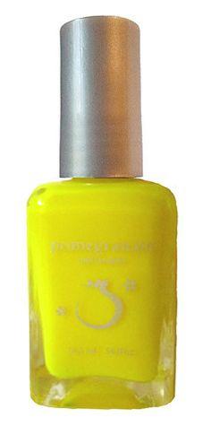Pomegranate Nail Lacquer — Raid the Arcade! - neon yellow nail polish
