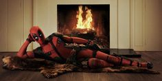 Ryan Reynolds is sending the geekosphere into a tizzy today after tweeting out this official photo of his Deadpool suit, à la Burt Reynolds: