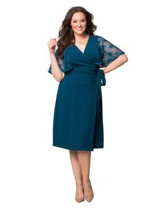 kiyonna women's plus size forever yours wedding dress 0x soft
