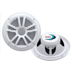 Boss Audio MR6W 6.5 Dual Cone Marine Coaxial Speaker (Pair) - 180W - White