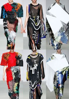 London Fashion Week   Autumn/Winter 2014/2015   Print Highlights   Part 1 catwalks