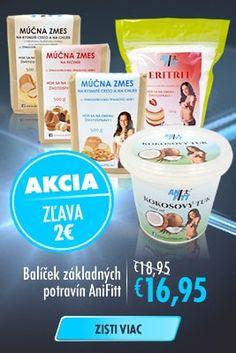 Balíček základných potravín AniFitt Akcia
