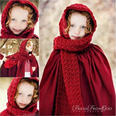 #Crochet Hooded Scarf Pattern is just absolutely beautiful!!! Available on @Craftsy on Pinterest
