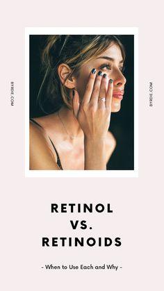 The difference between retinol and retinoid