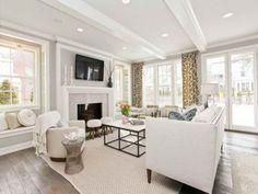 Modern Farmhouse Design | Modern Farmhouse Style Elegant Design Interior Living Room
