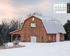Image result for modern gambrel barn upper view