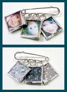 DIY Make Soldered Pendants with your own photos inside!  {tutorial} this would be cool as single charms on a necklace