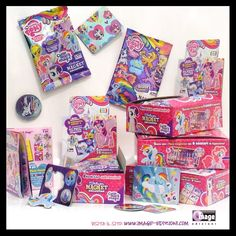 My Little Pony Silver Magnet Collection