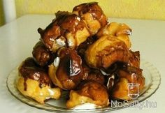 Profiterol halom Rhodes, Chicken, Meat, Food, Design, Eten, Meals, Cubs