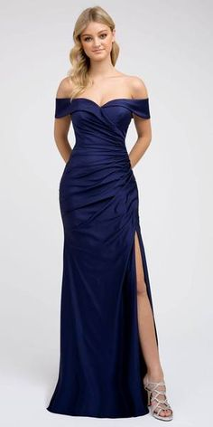 Cheap navy blue formal dresses for women. We carry of dress styles in navy blue; everything from prom, to bridesmaid, to mother of the bride, cocktail, and more. Navy Blue Formal Dress, Navy Blue Gown, Navy Blue Evening Gown, Navy Blue Bridesmaid Dresses, Navy Dress, Navy Blue Cocktail Dress, Navy Blue Dresses, Bridesmaids, Prom Dresses With Pockets