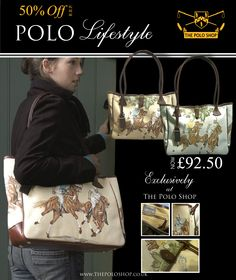 Italian Leather Polo Handbags.  Perfect for carrying all your holiday essentials