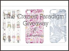 #win your choice of iPhone Case (4, 4s or 5) Giveaway!