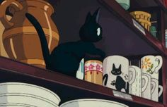 Jiji finds his mug #kiki's delivery service