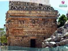 Llamada la iglesia esta estructura en la ciudad Maya de Chichén Itzá, Yucatán