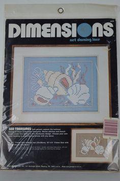 #Dimensions #J#4808 #Sea #Treasures #Net #Darning #Kit #Dimensions