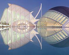 Hemisphere, Valencia, Spain   ---  Rainer Mirau, Photography