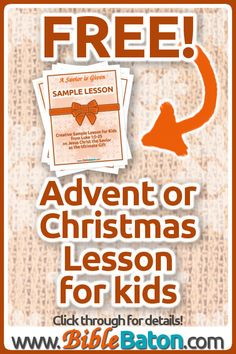 Need an Advent lesson for kids? This Christmas Bible lesson plan is perfect for Sunday School or kidmin. Get your free Advent lesson for children now! Sunday School Curriculum, Sunday School Activities, Christmas Activities For Kids, Sunday School Lessons, Learning Activities, Bible Lessons For Kids, Bible For Kids, Christmas Bible, Object Lessons