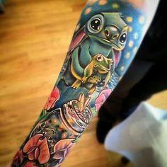 Stitch sleeve!