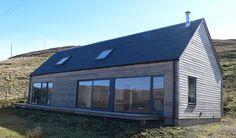 Spektakuläre Aussicht inklusive! Mag die Anreise zum Skye Woodhouse auch etwas dauern, so wird man am Ziel dafür reichlich entschädigt. Das auf einer abgeleg