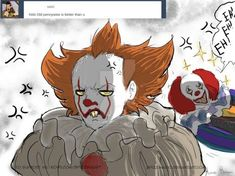 It Pennywise- Indignation mode by Spizzina00