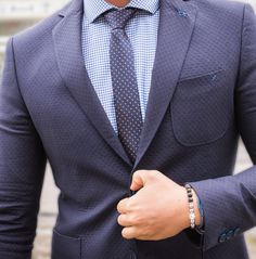 Navy blue men blazer