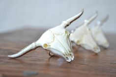 GYPSY LONGHORN /// Bull Electroformed Ring /// Silver by luxdivine