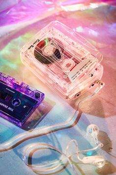 Clear Cassette Player
