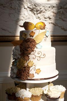 Real Wedding: Tori & Trey's Woodsy, Shabby Chic Fall Wedding